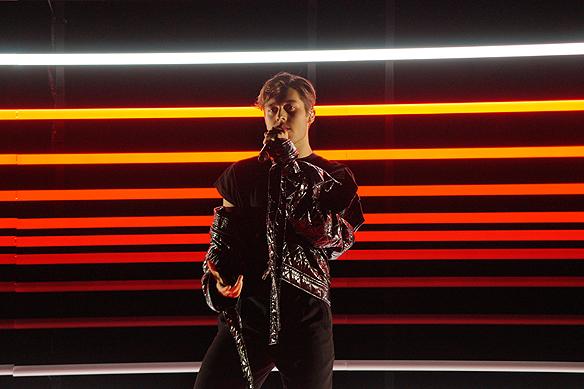 """Benjamin gick till final i Melodifestivalen med låten """"Dance you off"""". """"Att få göra det som man älskar och att det uppskattas av folk är helt underbart. Jag är jättelättad"""", säger Benjamin Ingrosso. Foto: Peter Ahlborg"""