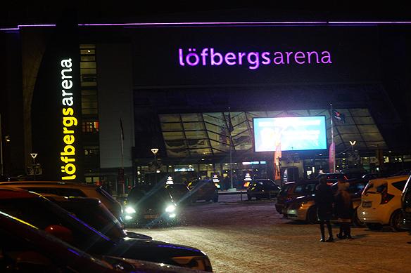 Melodifestivalen har sin premiär i soliga Karlstad på Löfbergs Arena. Foto: Peter Ahlborg