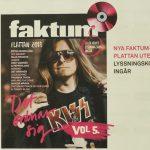 Peter Ahlborg pryder omslaget till Faktum-plattan vol 5 som GP och Faktum gör reklam för