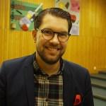 Jimmie Åkesson besökte Vänersborg