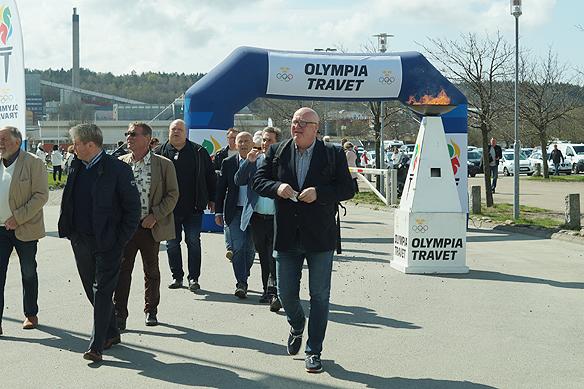 Olympiatravet 2018 besöktes av över 10 000 gäster den 28 april 2018. Foto: Peter Ahlborg