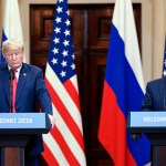 Peter Ahlborg bevakar det historiska mötet mellan Donald Trump och Vladimir Putin