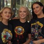 Fler bilder inför konserten med Guns N' Roses