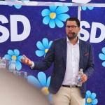"""Jimmie Åkesson: """"Vi ska se till att låsa in gängmedlemmarna på långa, långa fängelsestraff"""""""