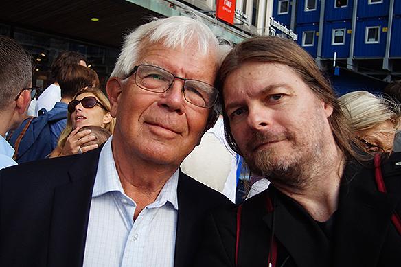 Alf Svensson och Peter Ahlborg.