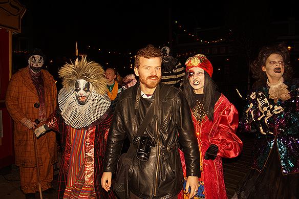 PeterAhlborg och Charlie Källberg besökte Liseberg och Halloween den 4 november 2018. Foto:PeterAhlborg