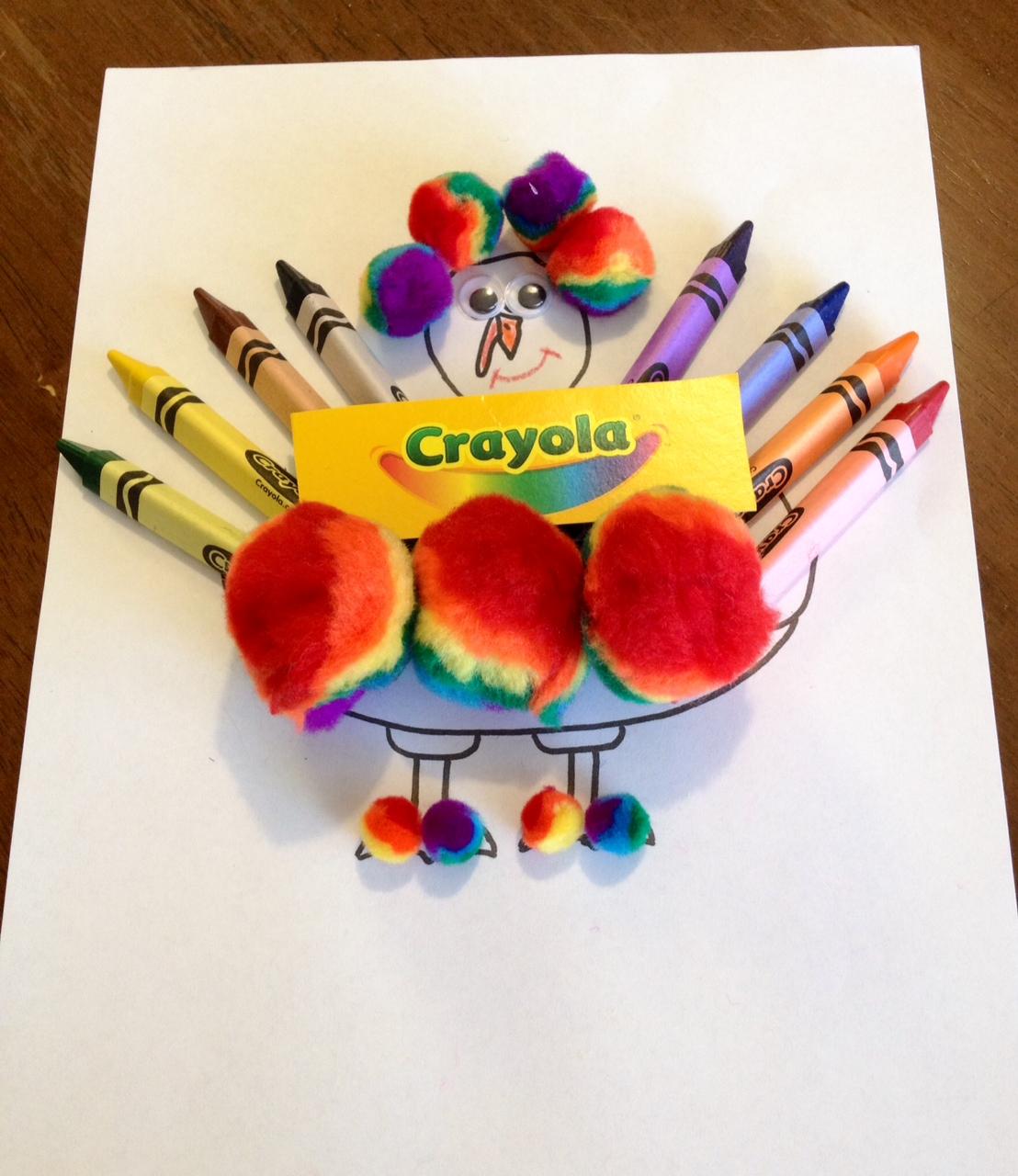 Turkey In Disguise Thanksgiving Craft