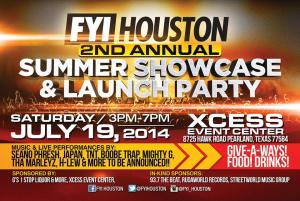 FYI Houston 2nd Annual Summer Showcase & Launch Party
