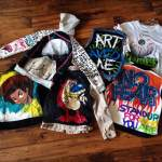 Original hand-painted clothing by Art&Visuals