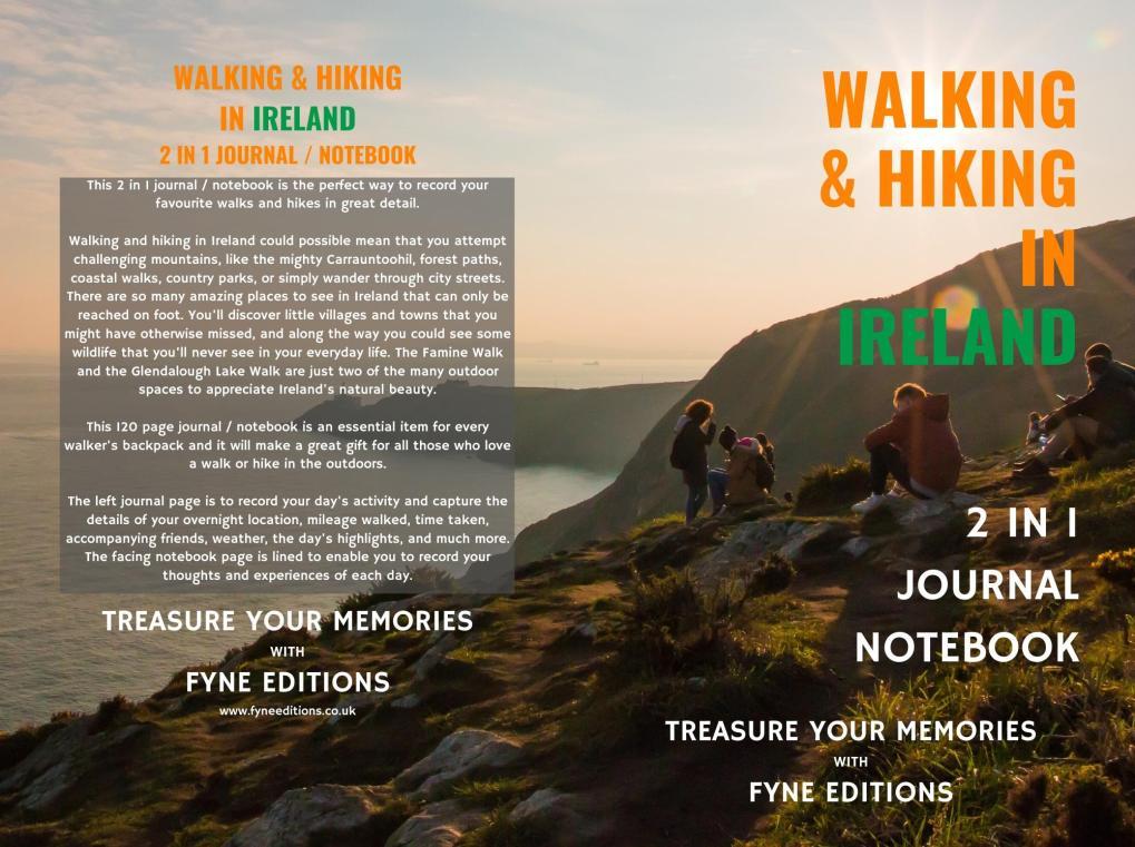 Walking & Hiking in Ireland Journal & Notebook