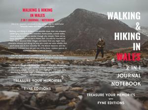 Walking & Hiking in Wales Journal & Notebook