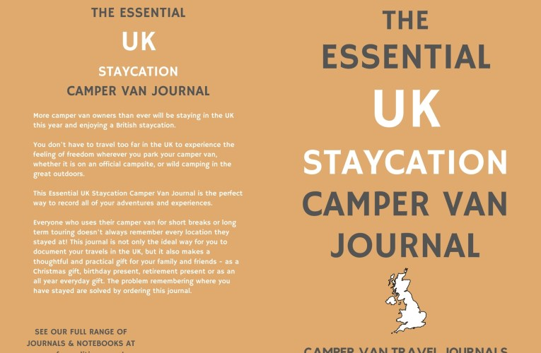 The Essential UK Staycation Camper Van Journal
