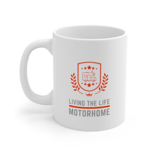 Living The Life Motorhome Mug