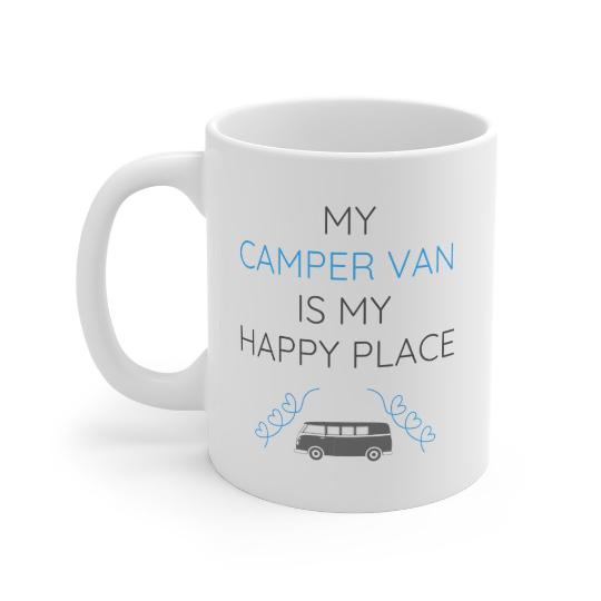 My Camper Van Is My Happy Place Mug