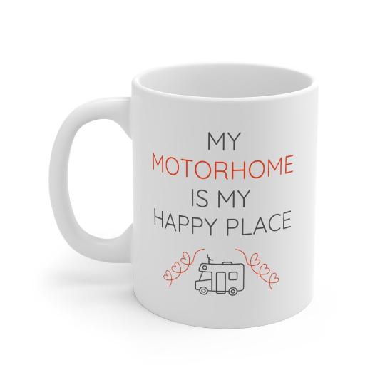 My Motorhome Is My Happy Place Mug