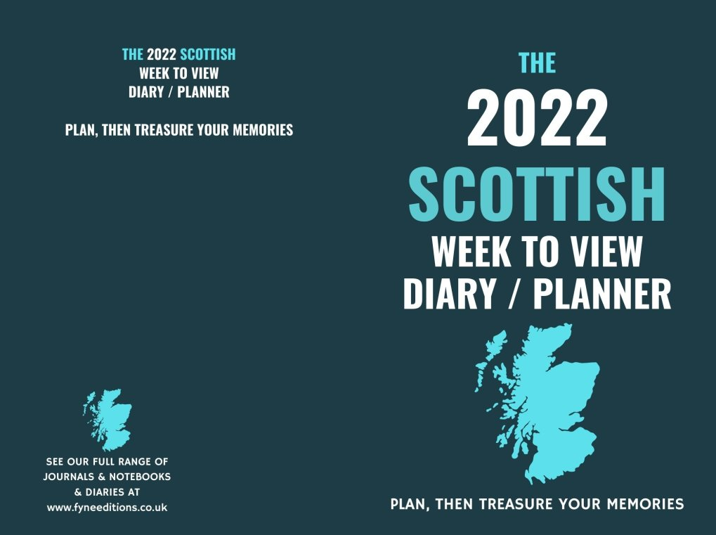 Cover - The 2022 Scottish Week to View Diary Planner