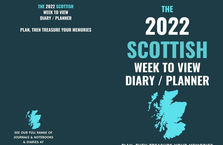 The Best 2022 Scottish Themed Diary – The Perfect Gift