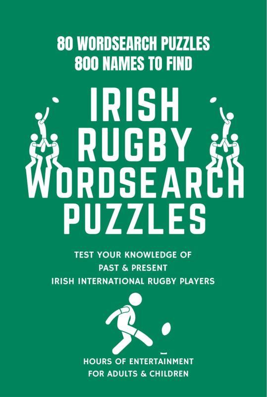 Irish Rugby Wordsearch Book