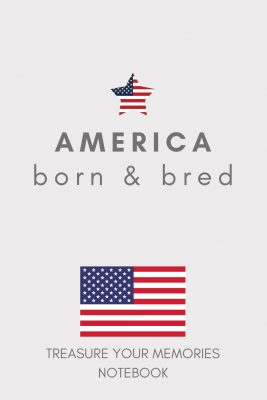 America Lined Notebook
