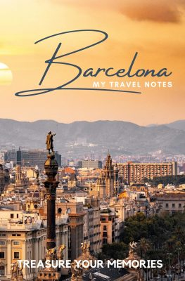 Barcelona - Cities Lined Notebooks