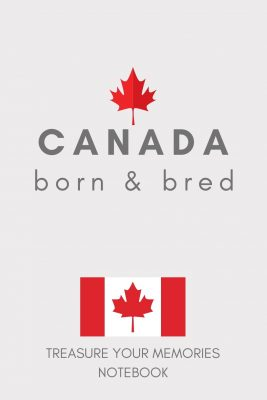 Canada Lined Notebook