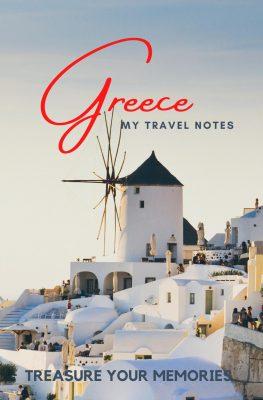 Greece Travel Notebook