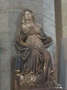 Den Hellige Birgitta i Klosterkirken i Vadstena