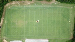 Aerial photography lincoln county tennessee highland rim school