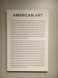 American Art Description