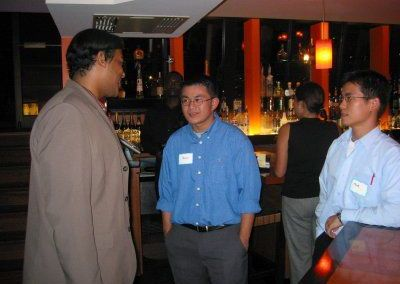 FYP/PACC Networking Reception, Oct 14, 2004
