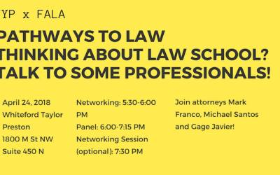 Pathways to Law: FALA and FYP Networking and Development Series