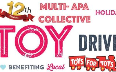 12th Annual Multi-APA Collective Toy Drive