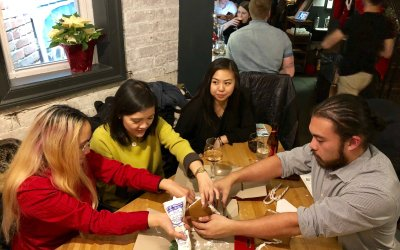 Gingerbread House Building with Bell's Brewering at Purple Patch