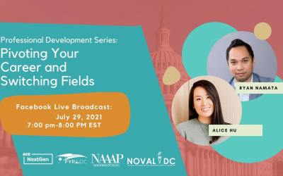 Event: Pivoting Your Career and Switching Fields – July 29, 2021