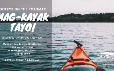 Event: FYP-DC Kayaking on the Potomac – July 24, 2021