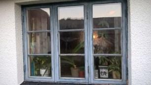 Så här såg fönsterna ut innan renovering