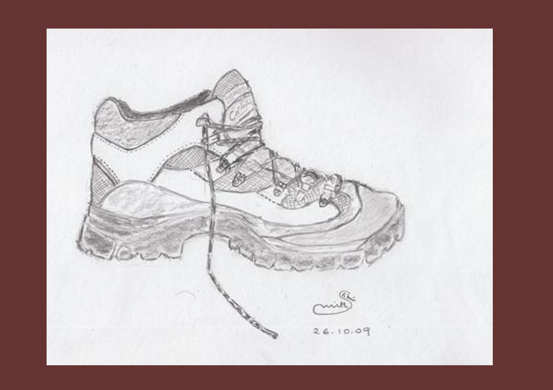 Not a Guptill boot - pencil 26.10.2009