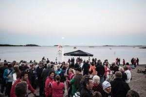 Muinaistulien yö 2015 Hanko - Ilotulituskoulu