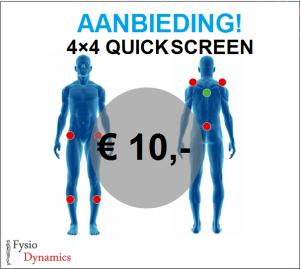 4×4 quick screen