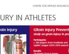 Lees hier meer over de eerste resultaten van de GRIP studie (liesklachten in het betaald voetbal)