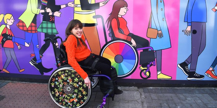 Izzy, an Irish Wheelchair Art Initiative, is on a Roll