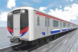MRTパープルラインの車両イメージ