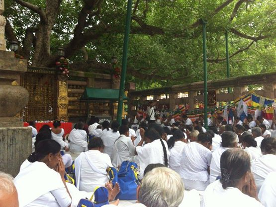 仏教4大聖地のひとつ、ブッダガヤ