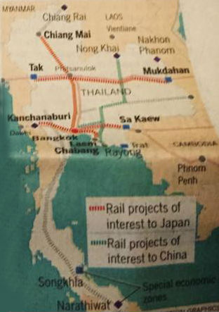 タイの高速鉄道計画