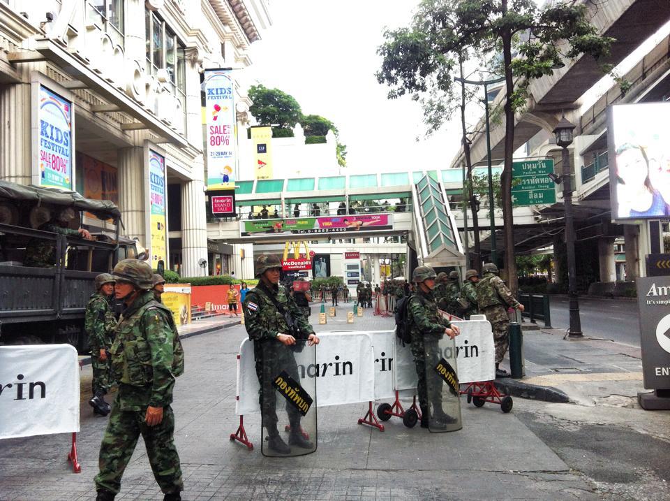 タイ2014年5月クーデター当時