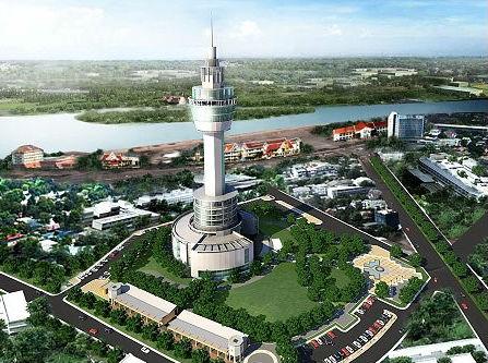 paknam-tower in Samutprakan