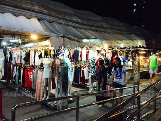 Onnut night market last day