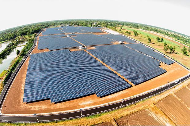 Thailand solar farm
