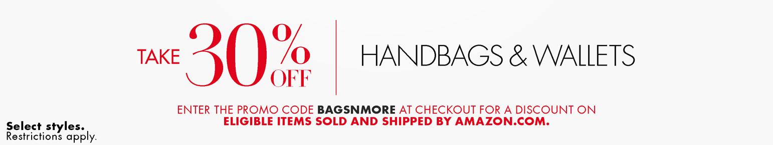 Take 30% off Handbags