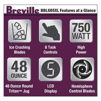 BBL605XL features